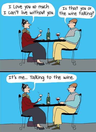 Image result for its me talking to the wine