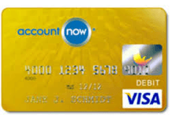 AccountNow Gold Visa Credit Card
