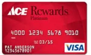 Ace Hardware Rewards Visa Credit Card Login