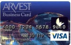 Arvest Classic Visa Credit Card Login