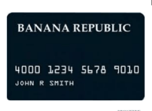 BANANA REPUBLIC CREDIT CARD Login