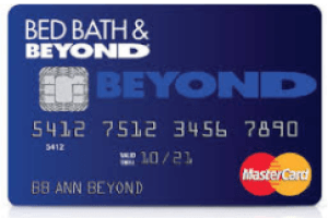 Bed Bath And Beyond Credit Card Login