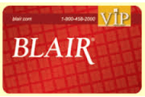 Blair Credit Card Login