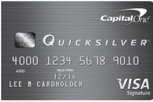 Capital One Quicksilver Credit Card Login