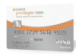 Choice Privileges Visa Signature Credit Card