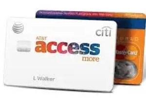 Citi AT&T Access Credit Card Login