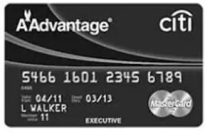Citi Aadvantage Executive Credit Card Login