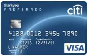 Citi Diamond Preferred Credit Card Login