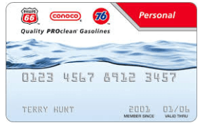 Conoco Credit Card