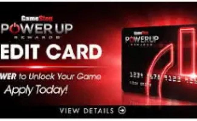 Gamestop Powerup Rewards Credit Card Login Card Gist