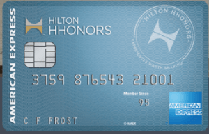 Hilton HHonours Amex Credit Card