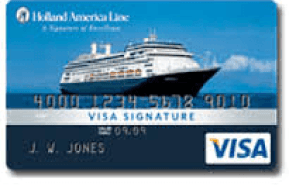 Holland America Line Reward Visa Credit Card