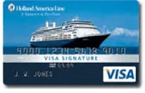 Holland America Line Reward Visa Credit Card