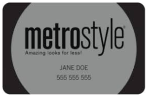 Metrostyle Credit Card