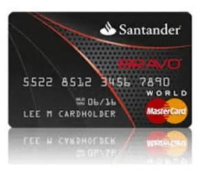 Santander Bravo Credit Card