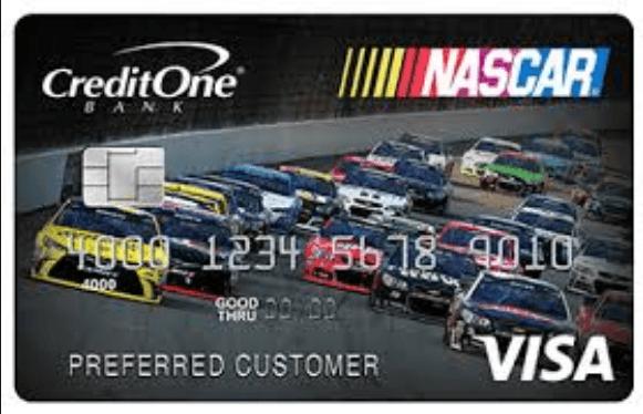 NASCAR VISA CARD