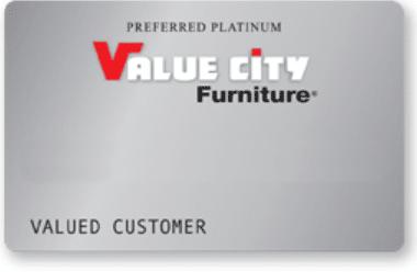 Value City Furniture Credit Card