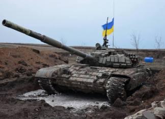 Украинские артиллеристы угнали Т-72 у боевиков