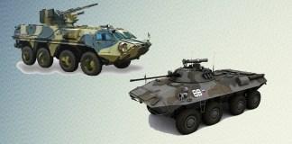 БТР-4 против БТР-90