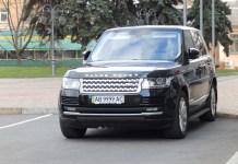 Range Rover Владимира Гройсмана