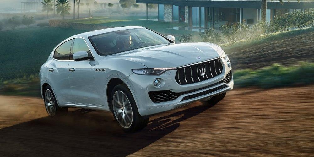 Levante - первый кроссовер Maserati