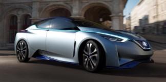 Концепт Nissan Leaf 2020