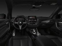 BMW M2 2016, интерьер