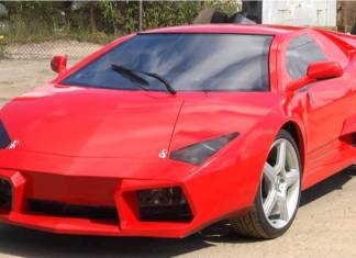 Украинская копия Lamborghini Reventon