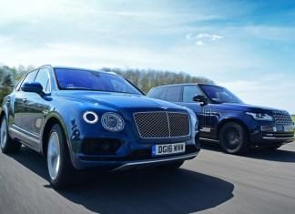 Bentley Bentayga и Range Rover