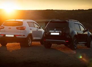 Kia Sportage и Renault Duter