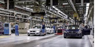 Завод BMW в Мюнхене