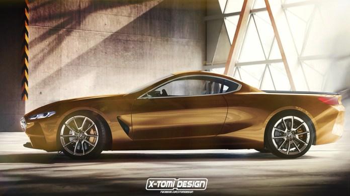 Концепт пикапа на базе BMW 8-Series