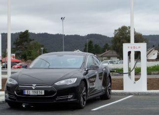 Tesla Model S в Норвегии