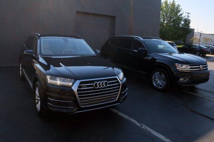 Audi Q7 и Volkswagen Atlas
