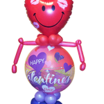 Valentines Bubble Man