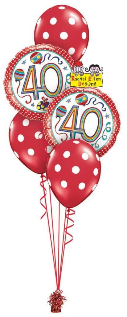Rachel Ellen 40th Birthday Classic Image
