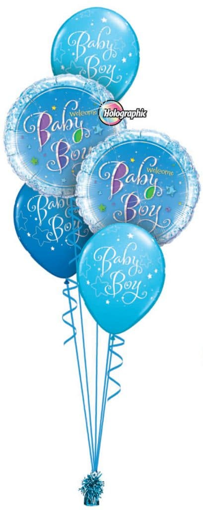 Welcome Baby Boy Classic Image