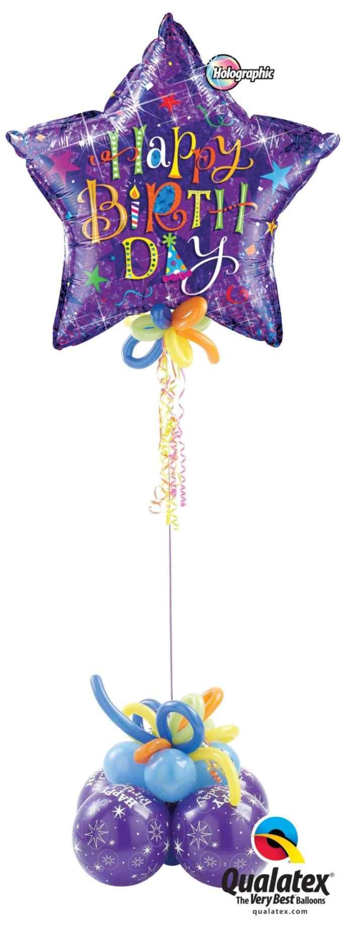 Birthday Giant Microfoil Image