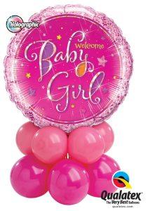 Welcome Baby Girl Mini