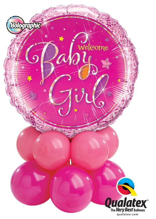 Welcome Baby Girl Mini Image