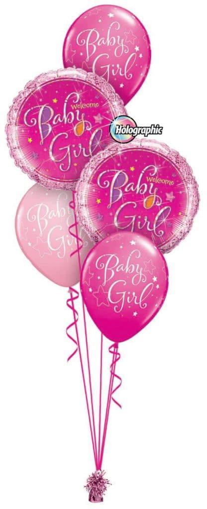 Welcome Baby Girl Classic Image