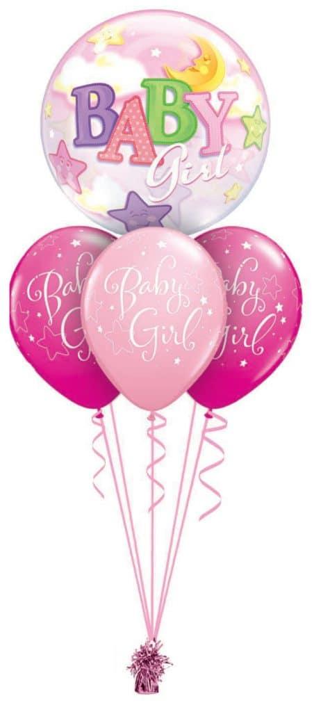 Baby Girl Bubble Layer Image