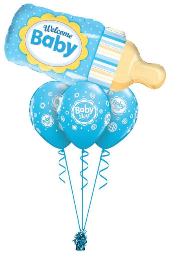 Baby Boy Bottle Layer Image