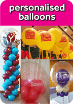 Personalised Balloons From Cardiff Balloons