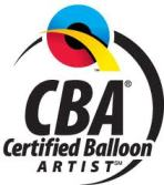 Cardiff Balloons Are Certified Balloon Artists