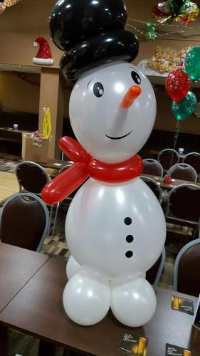 Frosty the Snowman. Christmas Balloons From Cardiff Balloons