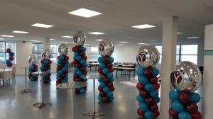Corporate Balloons For Indoor Biotechnologies