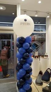 Pavers in Bridgend, Corporate Balloons after a store refit