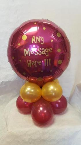 Personalised Table Mini. Any Message Available