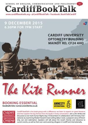 9 Dec 2015: Khaled Hosseini, The Kite Runner